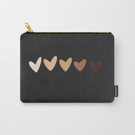 Nude Hearts Carry-All Pouch
