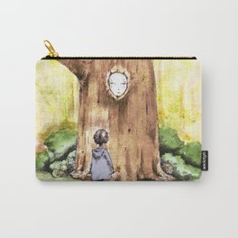 A Curious Quercus Carry-All Pouch