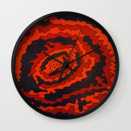 Magnitude Magnetism III Wall Clock