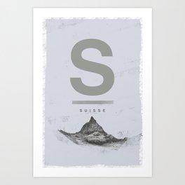 Suisse Art Print