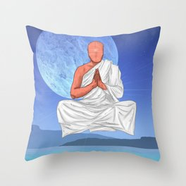 Water Chakra. Throw Pillow
