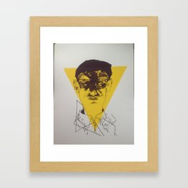Anxiety ii Framed Art Print
