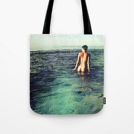Nude Ocean Tote Bag