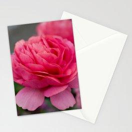 Vivid pink flower Stationery Cards