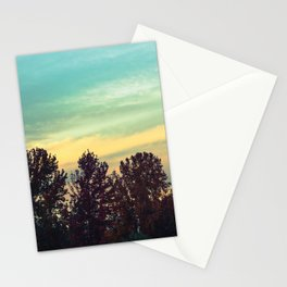 Protean Autumn Sky Stationery Cards