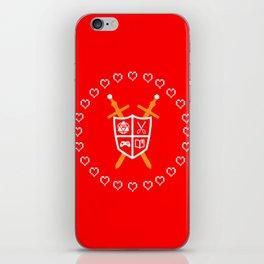 Crest of Nerdom iPhone Skin
