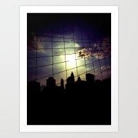 NYC Silhouette Art Print
