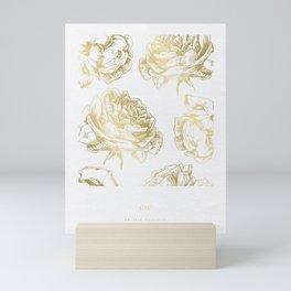 Gold Roses Mini Art Print