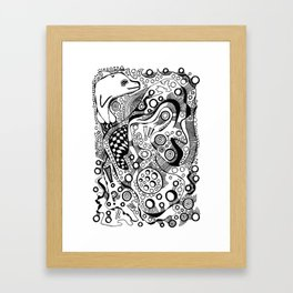 """Hypomania"" Framed Art Print"