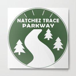 Natchez Trace Parkway Metal Print