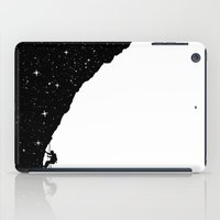 climbing iPad Cases featuring night climbing by Balazs Solti