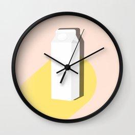 Objects, Milk Carton Wall Clock