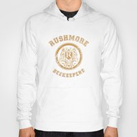 rushmore Hoodies featuring Rushmore Beekeepers Society by steeeeee