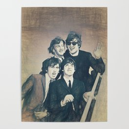 Beatle - John, Paul, George, and Ringo Poster
