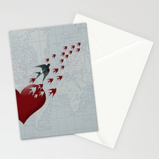 Leaving Home Stationery Cards