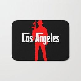 Los Angeles mafia Bath Mat