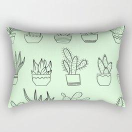 Cacti Species Rectangular Pillow