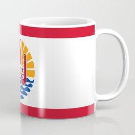 French Polynesia Flag Coffee Mug