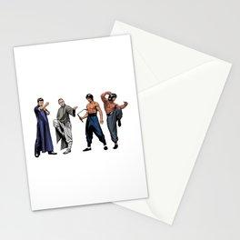 Kung Fu Legends Stationery Cards