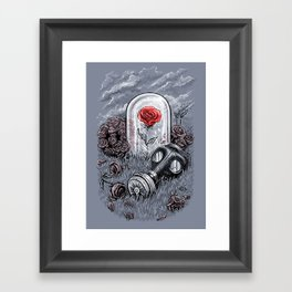 The Last Flower On Earth Framed Art Print