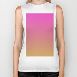 BOOGIE LIGHTS - Minimal Plain Soft Mood Color Blend Prints Biker Tank