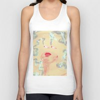 cigarettes Tank Tops featuring Delicious Cigarettes by Dustin Davis