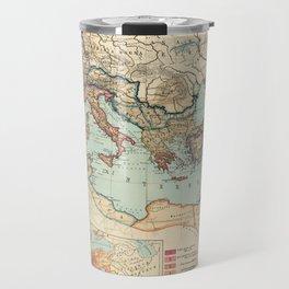 Vintage Map of The Roman Empire (1889) Travel Mug