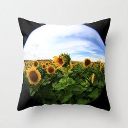 Sunflower 24 Throw Pillow