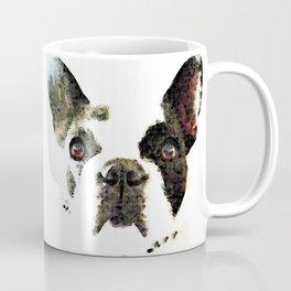 French Bulldog Art - High Contrast Painting by Sharon Cummings Coffee Mug