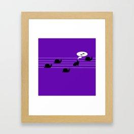 Irracional Framed Art Print