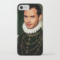 law iPhone & iPod Cases featuring Jude Law by Kimberley Britt