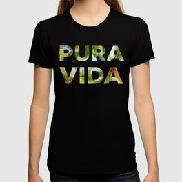 Pura Vida Costa Rica Palm Trees T-shirt