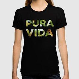 Pura Vida Costa Rica Palm Trees T-shirt