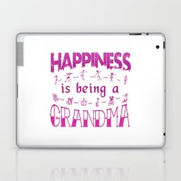 Happiness is Being a GRANDMA Laptop & iPad Skin