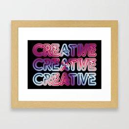 Creative Framed Art Print