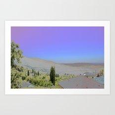 Chromascape 1: Cyprus Art Print