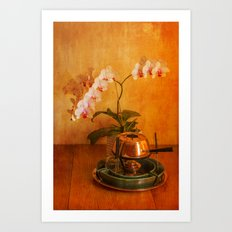 Orchid and Fondue Art Print