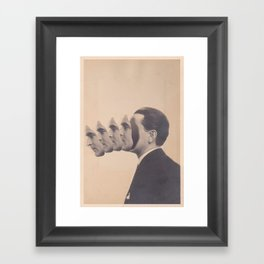 Politics (2013) Framed Art Print