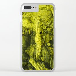 Caves of Zeus Clear iPhone Case
