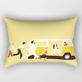 THE ROAD TO MISS  SUNSHINE Rectangular Pillow