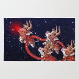 Santa's Backups Rug