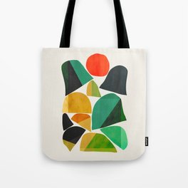Mountains as the giants Tote Bag