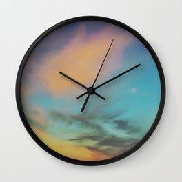 Acidic Sky Wall Clock