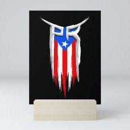 PR Flag - Puerto Rico Flag - Boricua Mini Art Print