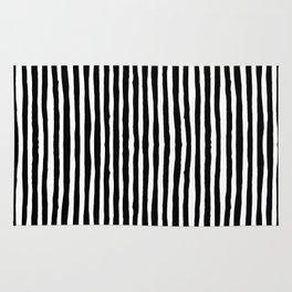 Black White Stripe Rugs Society6