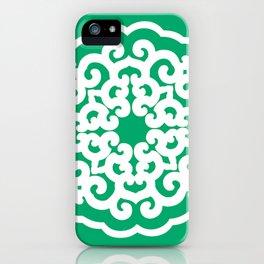 Jade Asian Moods Mandalla iPhone Case