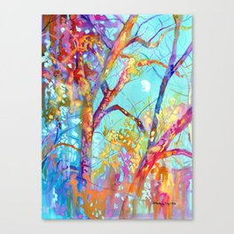 January Tree Canvas Print