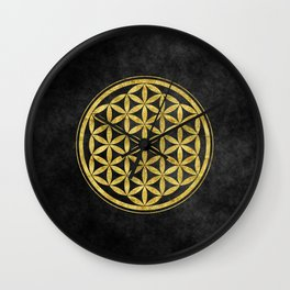 Flower Of Life 007 Wall Clock