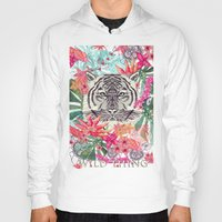 the thing Hoodies featuring WILD THING by Monika Strigel