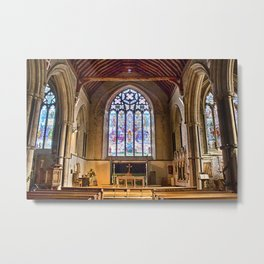 St Thomas Winchelsea Metal Print